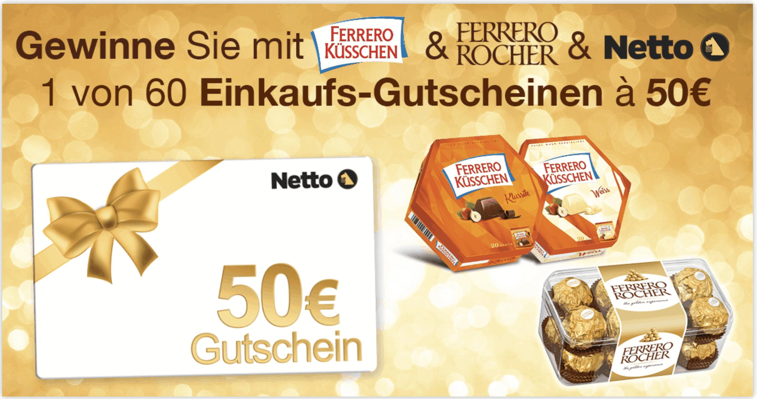 Gewinnspiel- Cases FMCG Süßwaren & Snacks Ferrero Küsschen