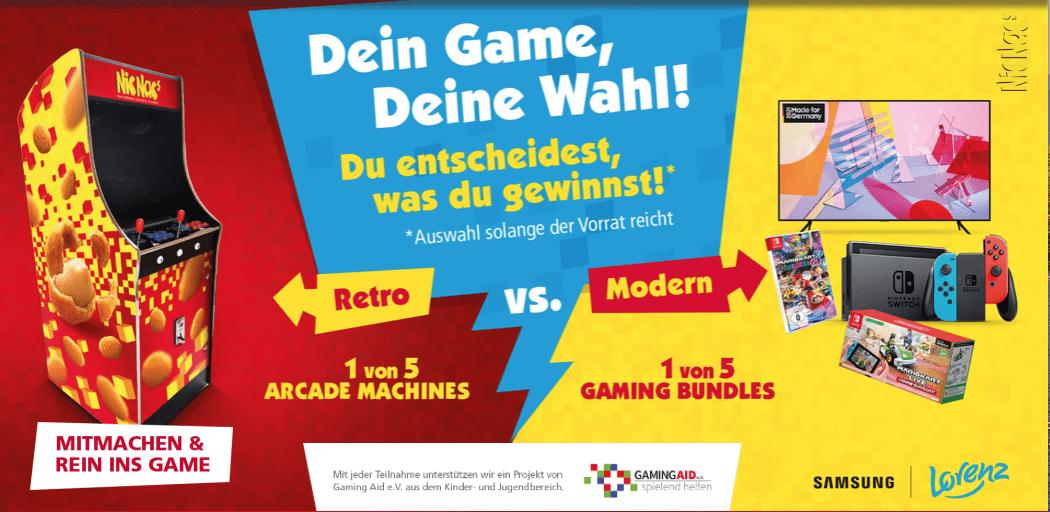 Gewinnspiel- Cases FMCG Süßwaren & Snacks NicNac`s