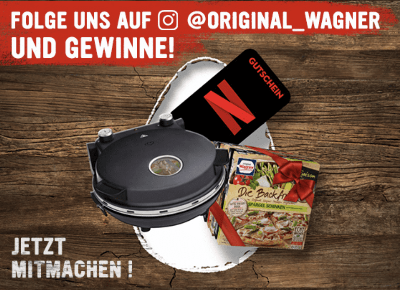 Gewinnspiel-Cases FMCG Food Original Wagner