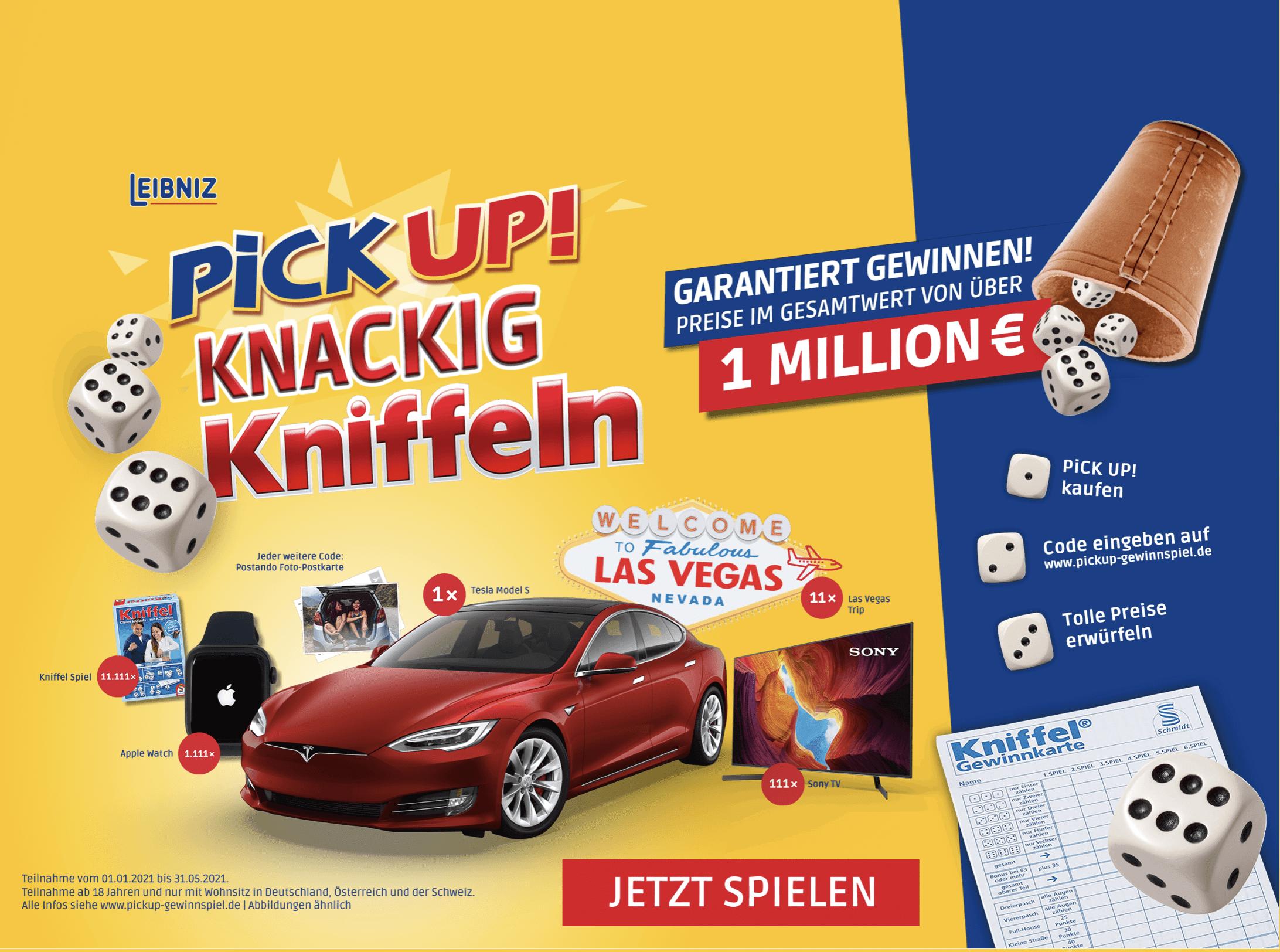 Gewinnspiel-Cases FMCG Süßwaren & Snacks PickUp