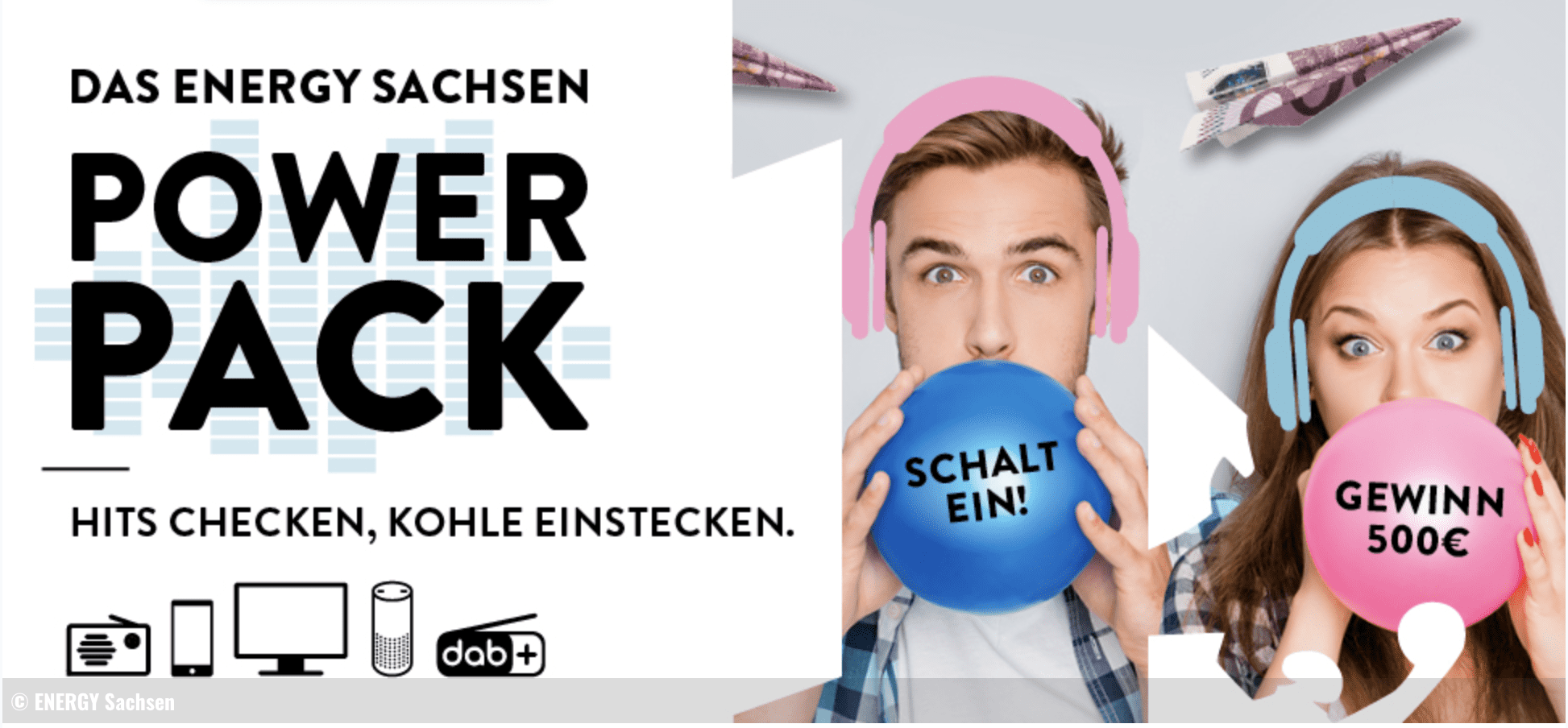 Gewinnspiel-Cases Radio & TV Energy Sachsen