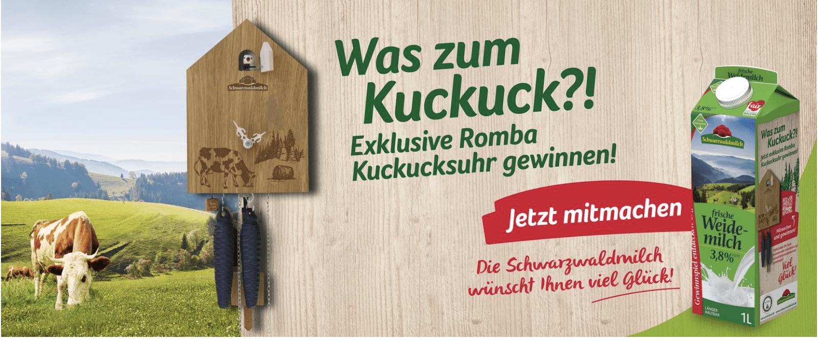 """Gewinnspiel-Cases """"FMCG Food"""" Schwarzwaldmilch"""
