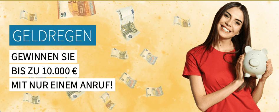 """""""Geldregen"""" für Leser der Allgäuer Zeitung Call-in-Gewinnspiel"""