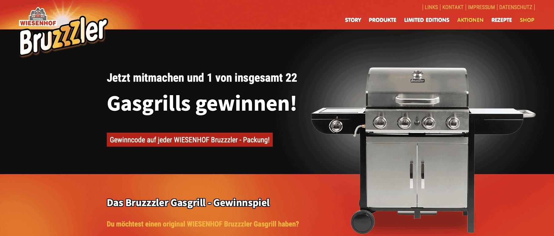 Wiesenhof Bruzzler Gewinnspiel-Cases FMCG Food