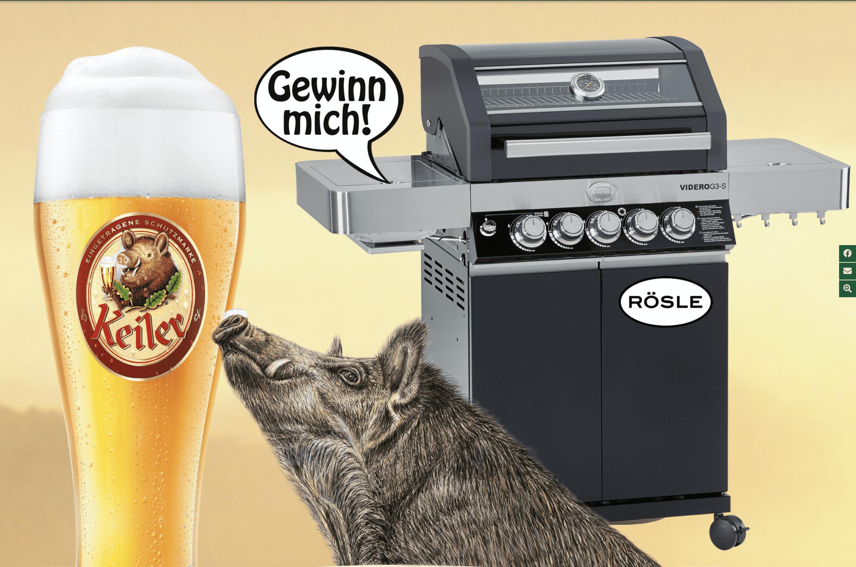 Keiler Bier Gewinnspiel-Cases FMCG Getränke