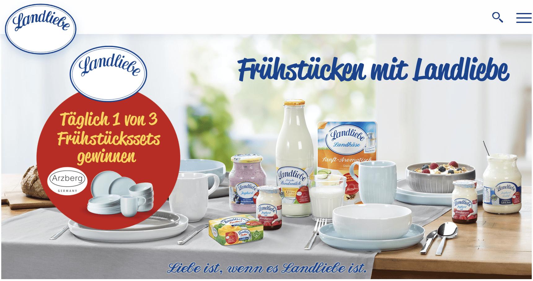 "Landliebe Gewinnspiel-Cases ""FMCG Food"""