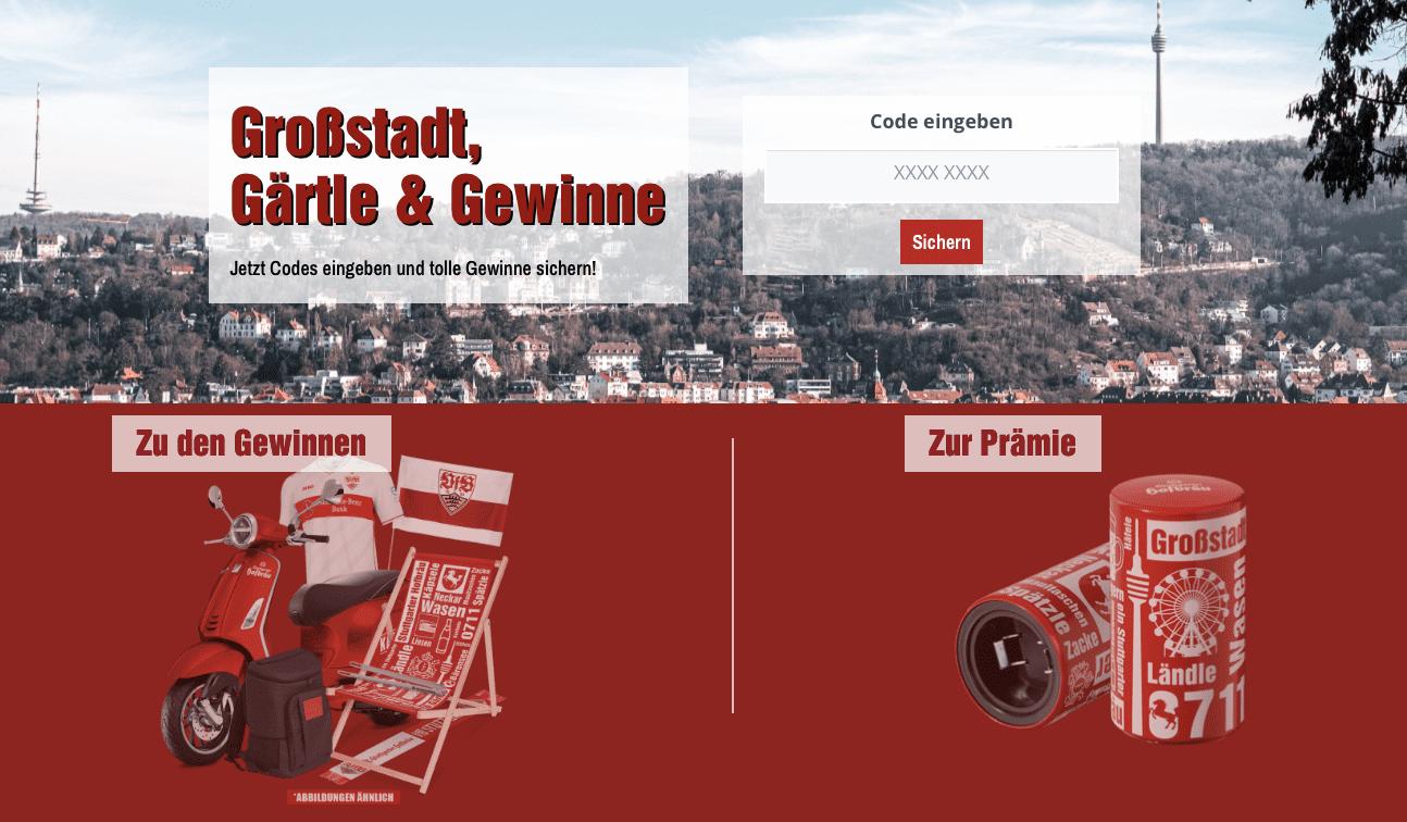 Stuttgarter Hofbräu Gewinnspiel-Cases FMCG Getränke