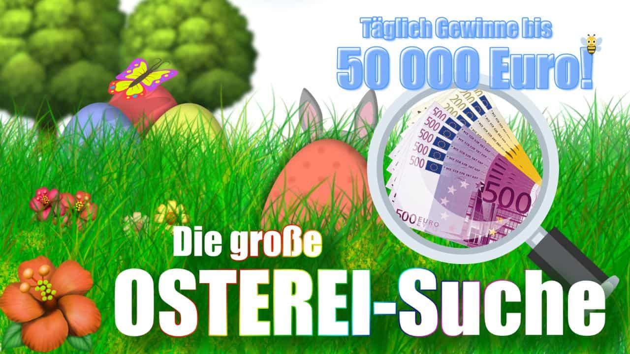 Gewinnspiel-Case BILD Oster-EIsuche 2021 CASH-CALL