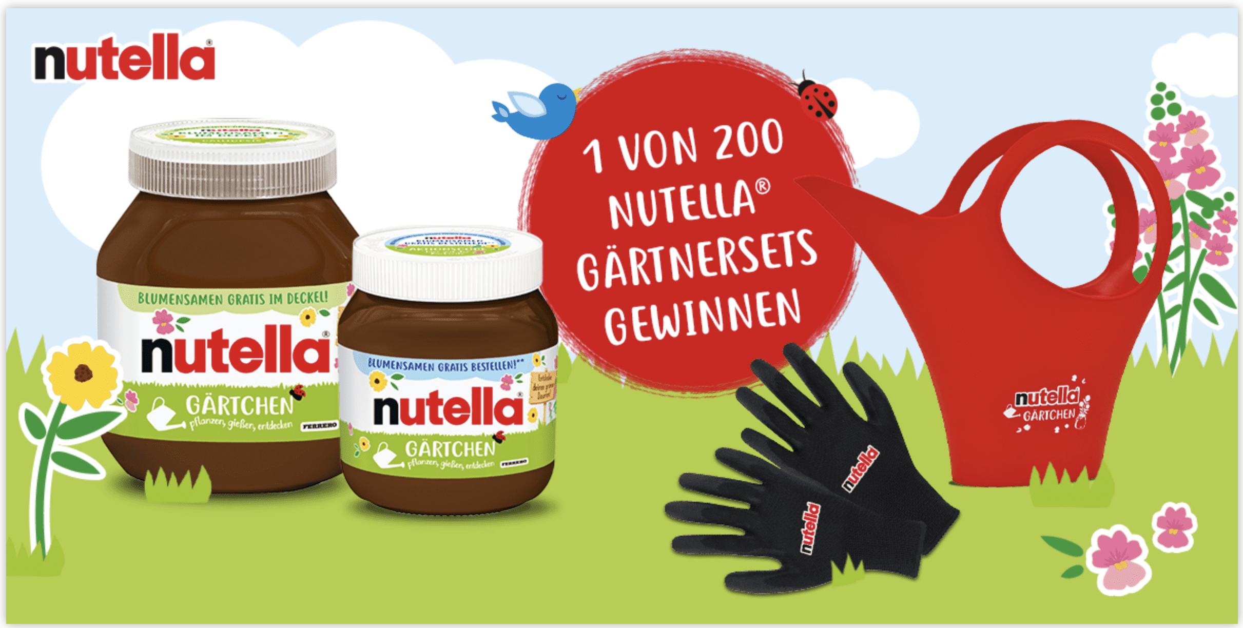 """Nutella Gewinnspiel-Cases """"FMCG Food"""""""