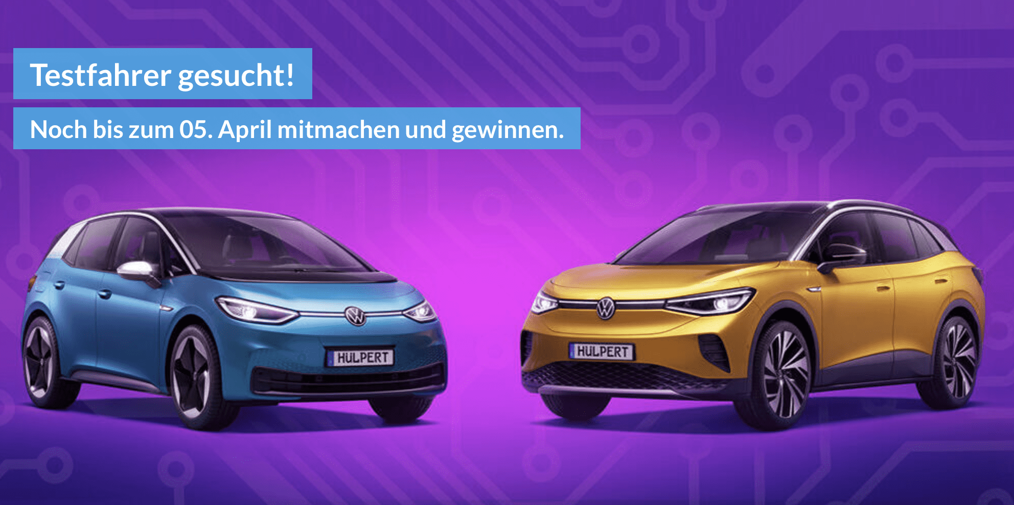 VW Holpert Gewinnspiel-Cases Automotive