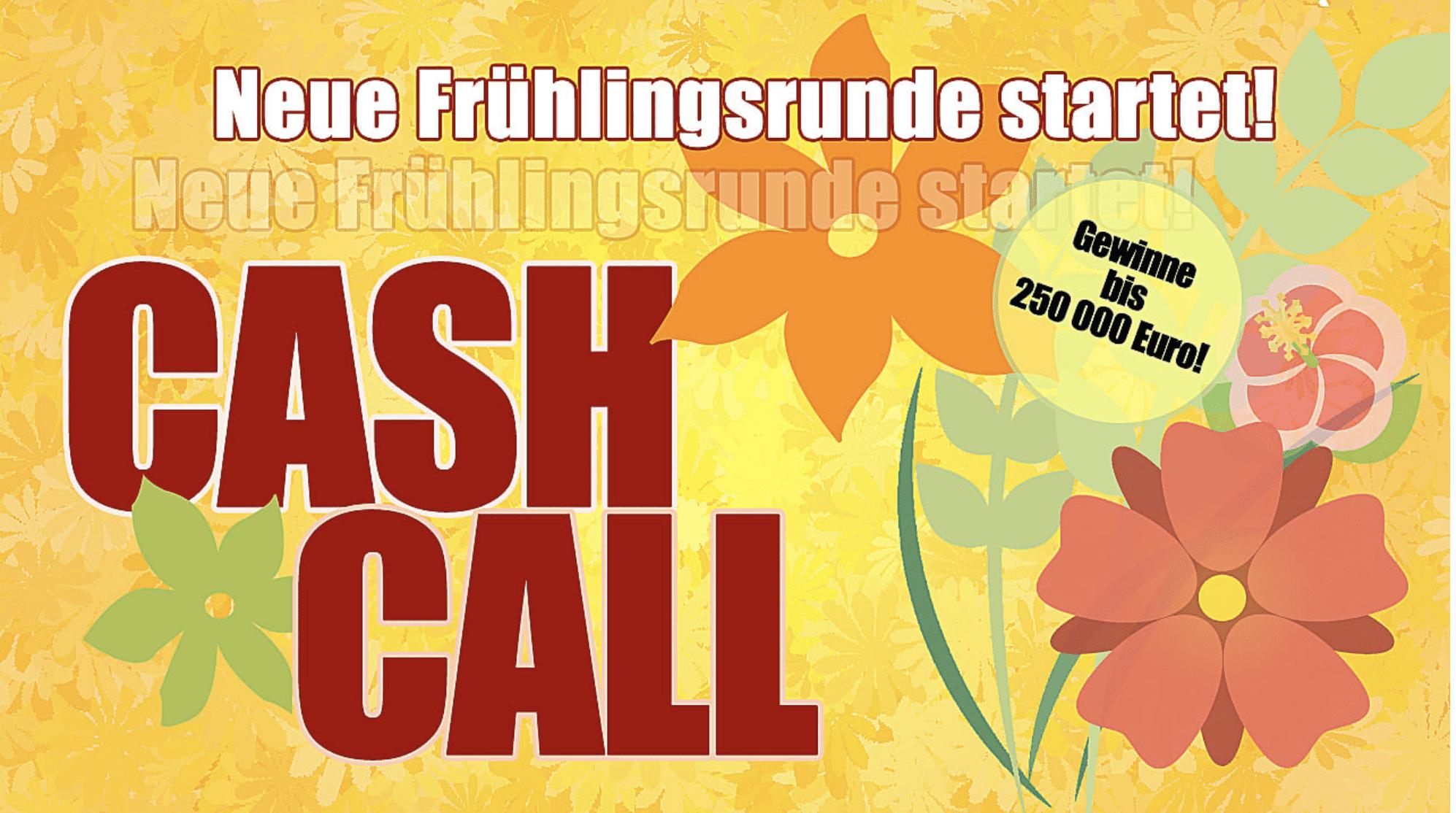 Bild Cash Call Frühlingsrunde