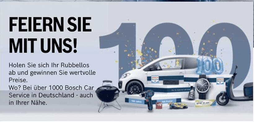 Gewinnspiel-Cases Automotive Bosch Car Service