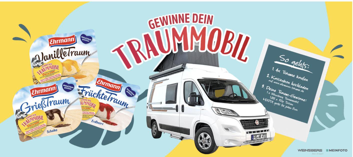 Gewinnspiel-Cases FMCG Food Ehrmann