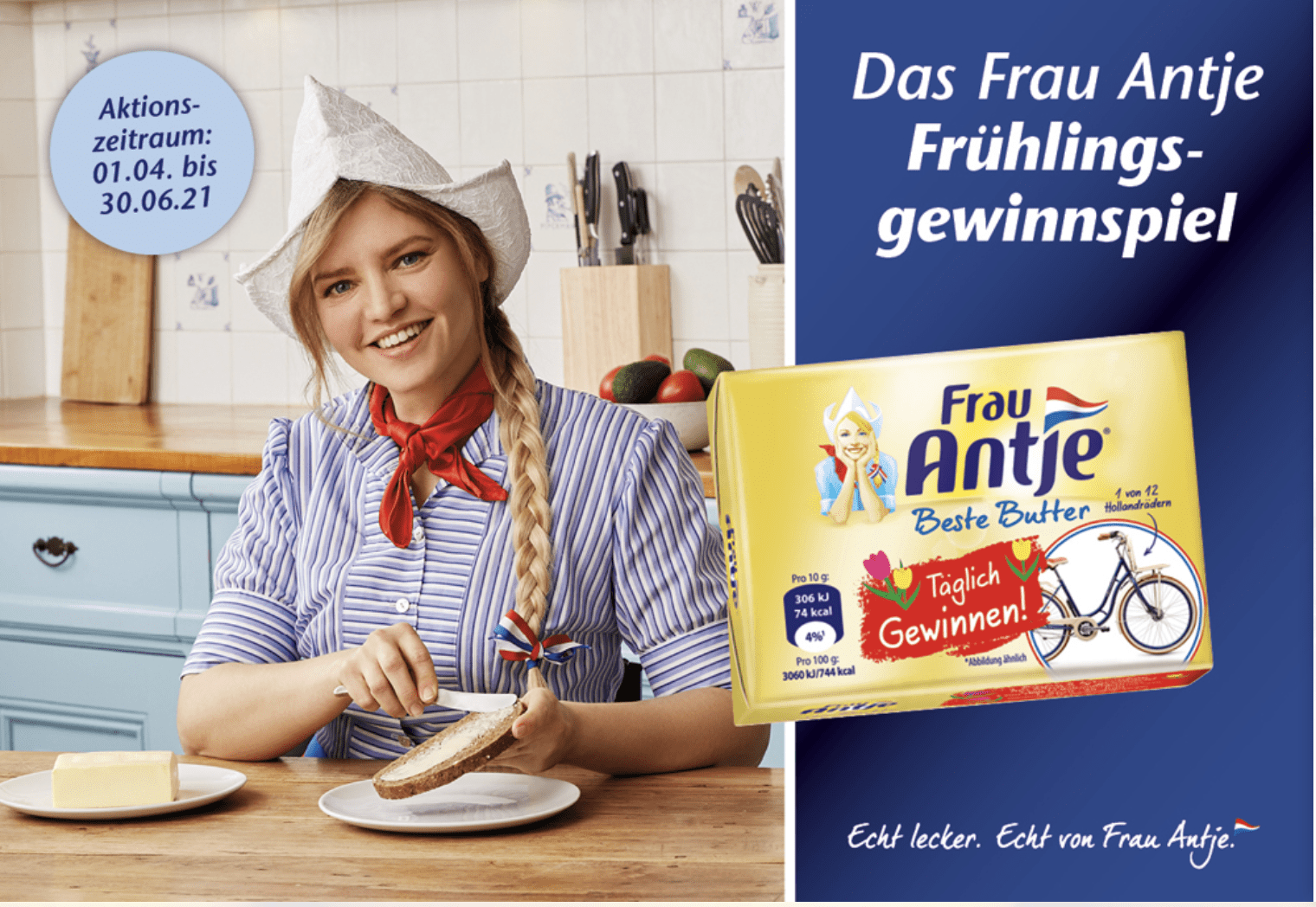 Gewinnspiel-Cases FMCG Food Frau Antje