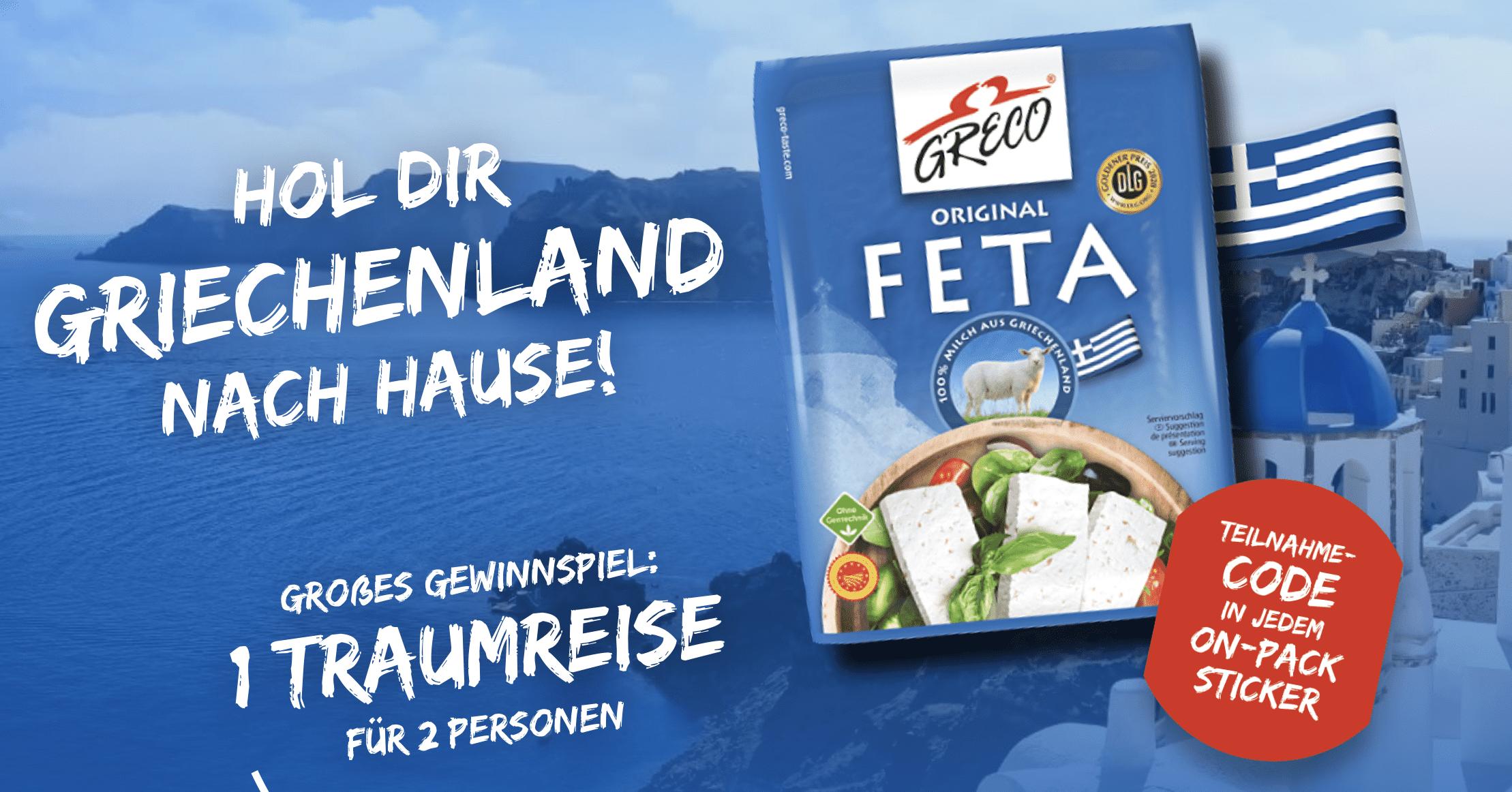 Gewinnspiel-Cases FMCG Food Greco
