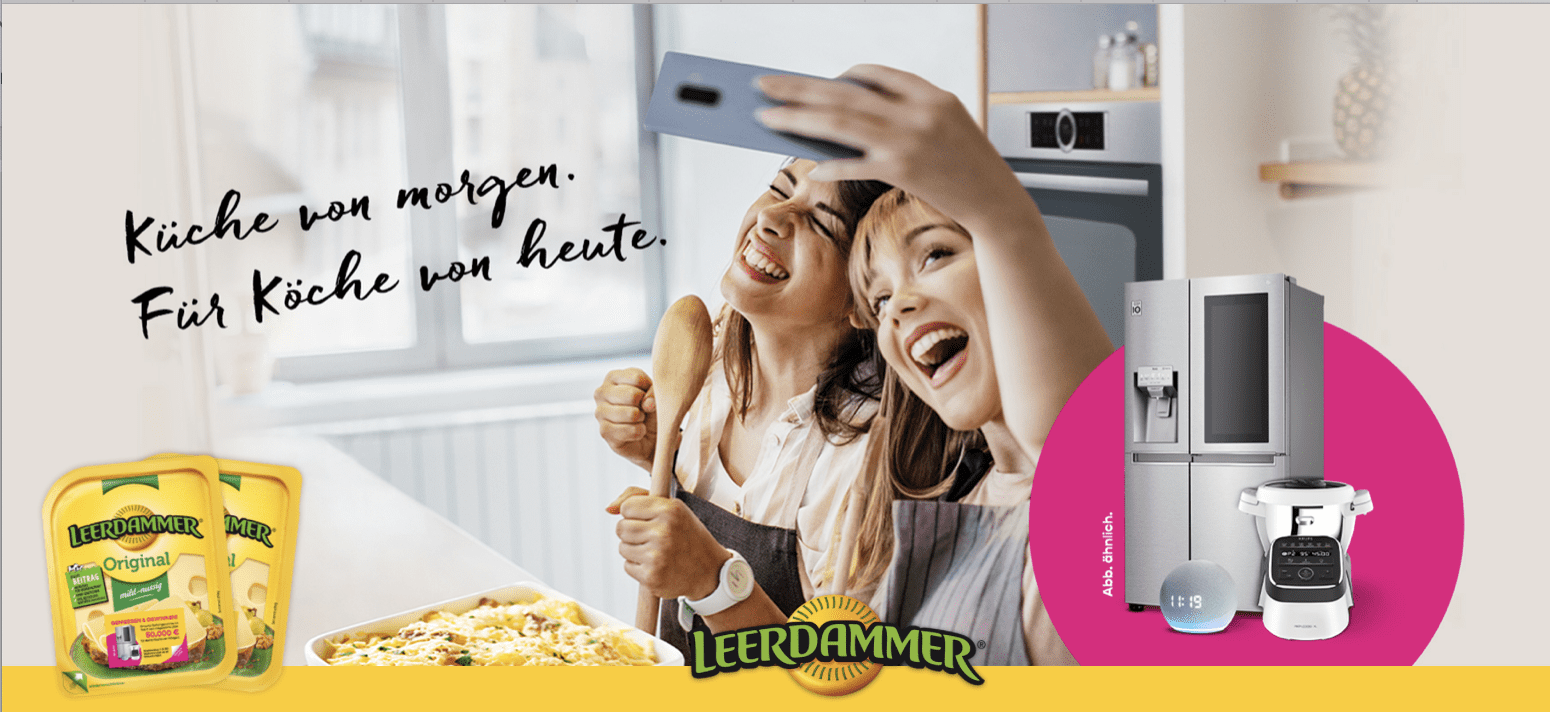 Gewinnspiel-Cases FMCG Food Leerdammer