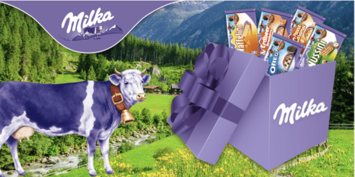 Gewinnspiele zur Lead-Generierung Milka