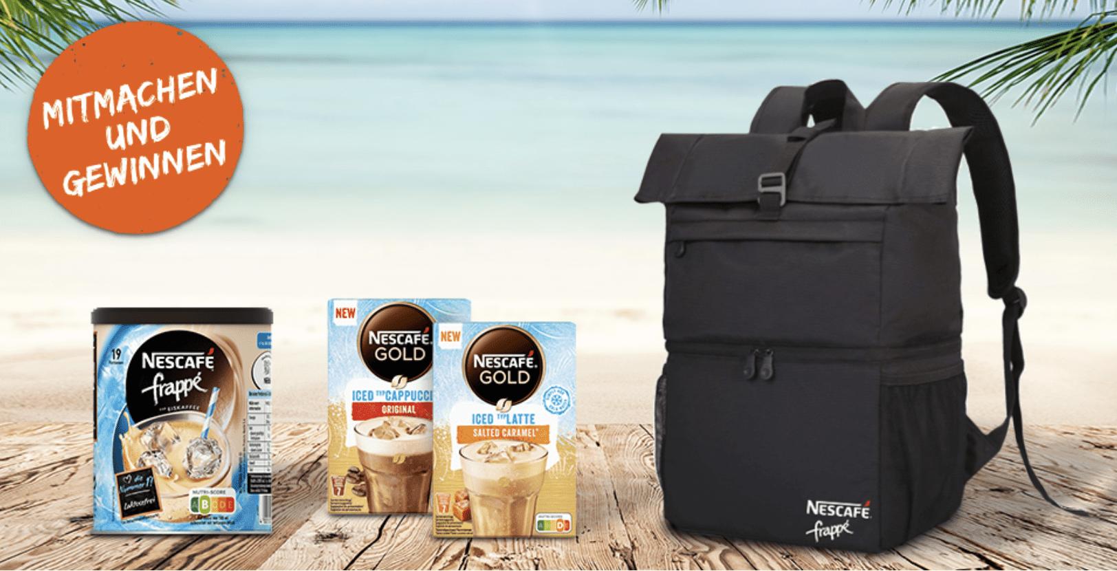 """Gewinnspiel-Cases """"FMCG Food"""" Nescafe"""