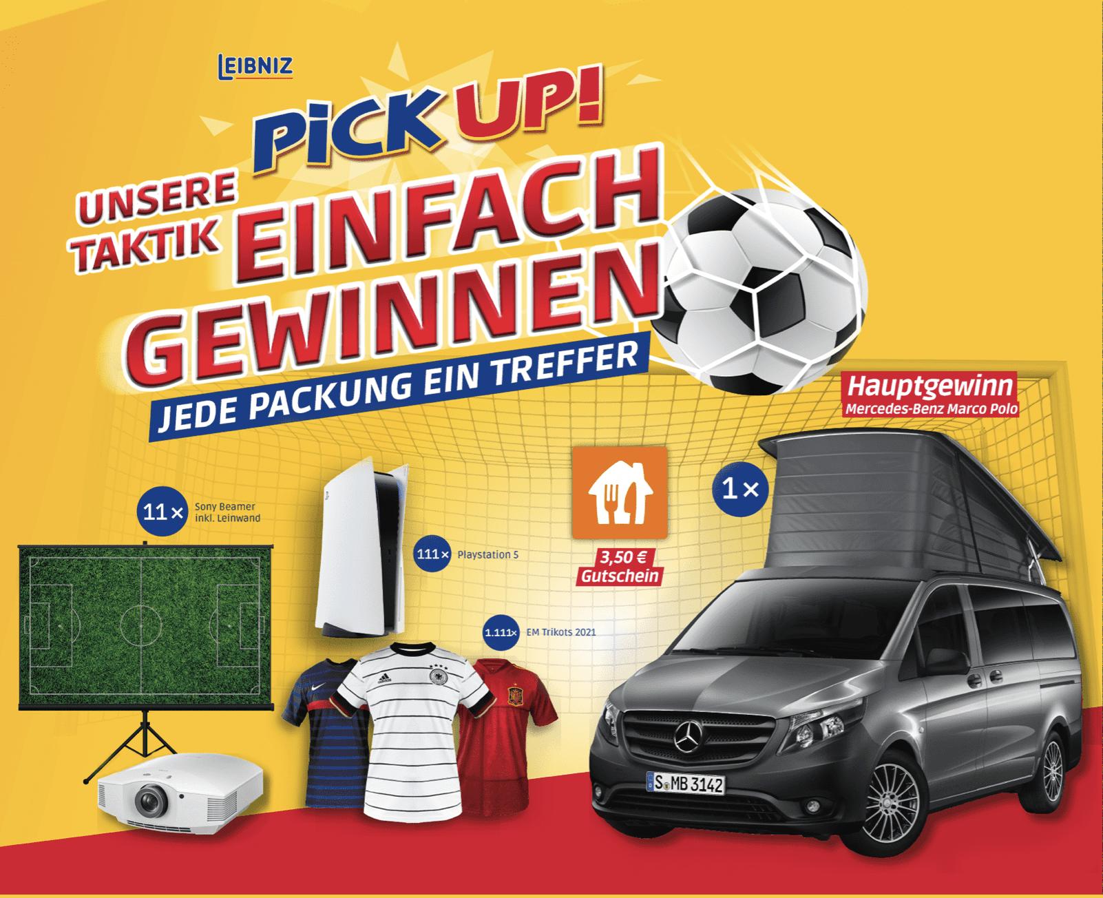 """Gewinnspiel-Cases """"FMCG Süßwaren & Snacks"""" PickUp!"""