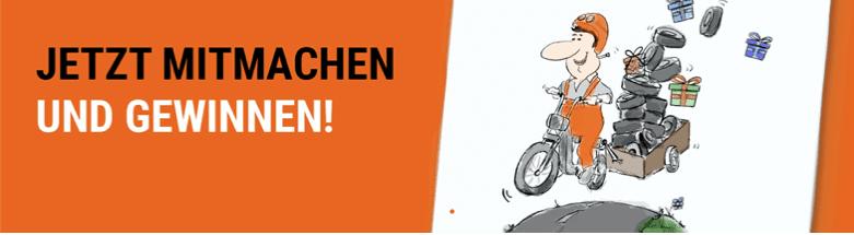 Gewinnspielcases Automotive Reifen Wagner