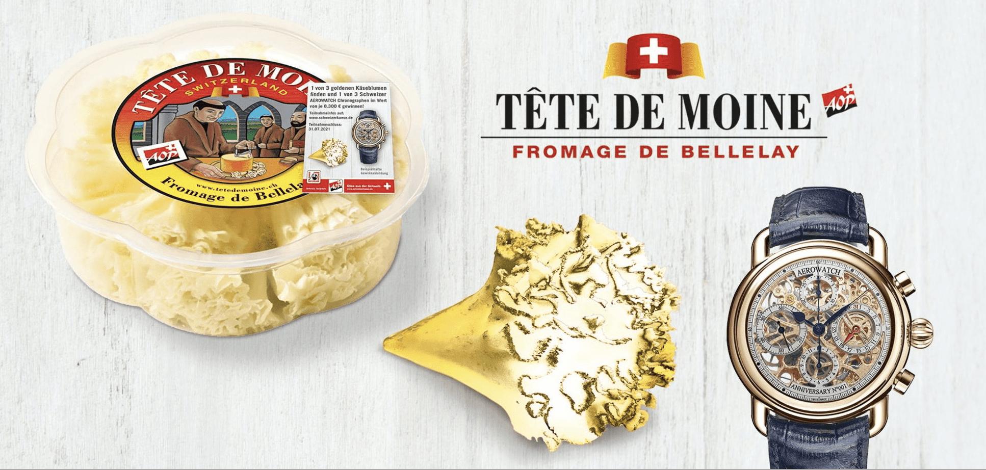 Gewinnspiel-Cases FMCG Food tete de Moine
