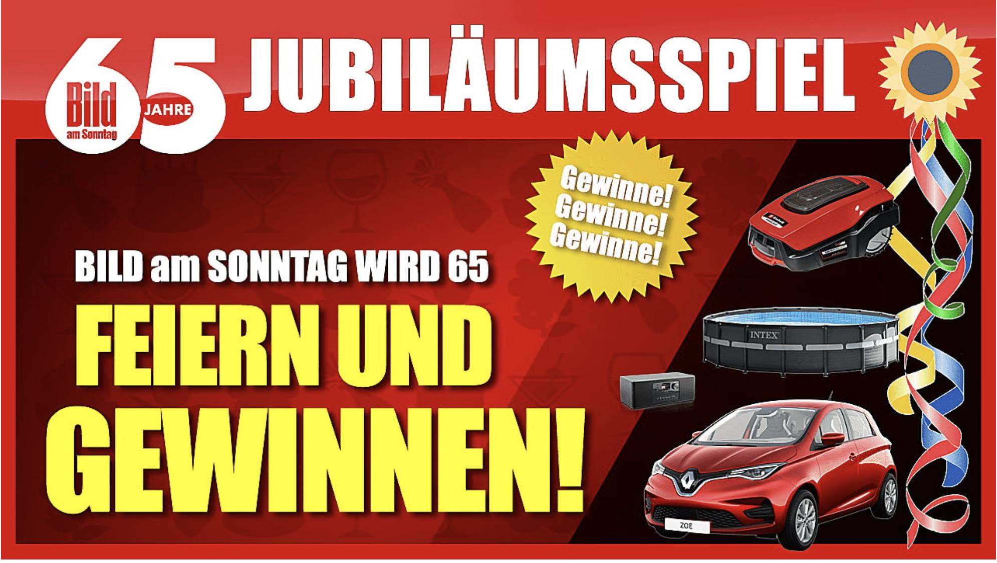 Case BILD & BamS Jubiläumswoche