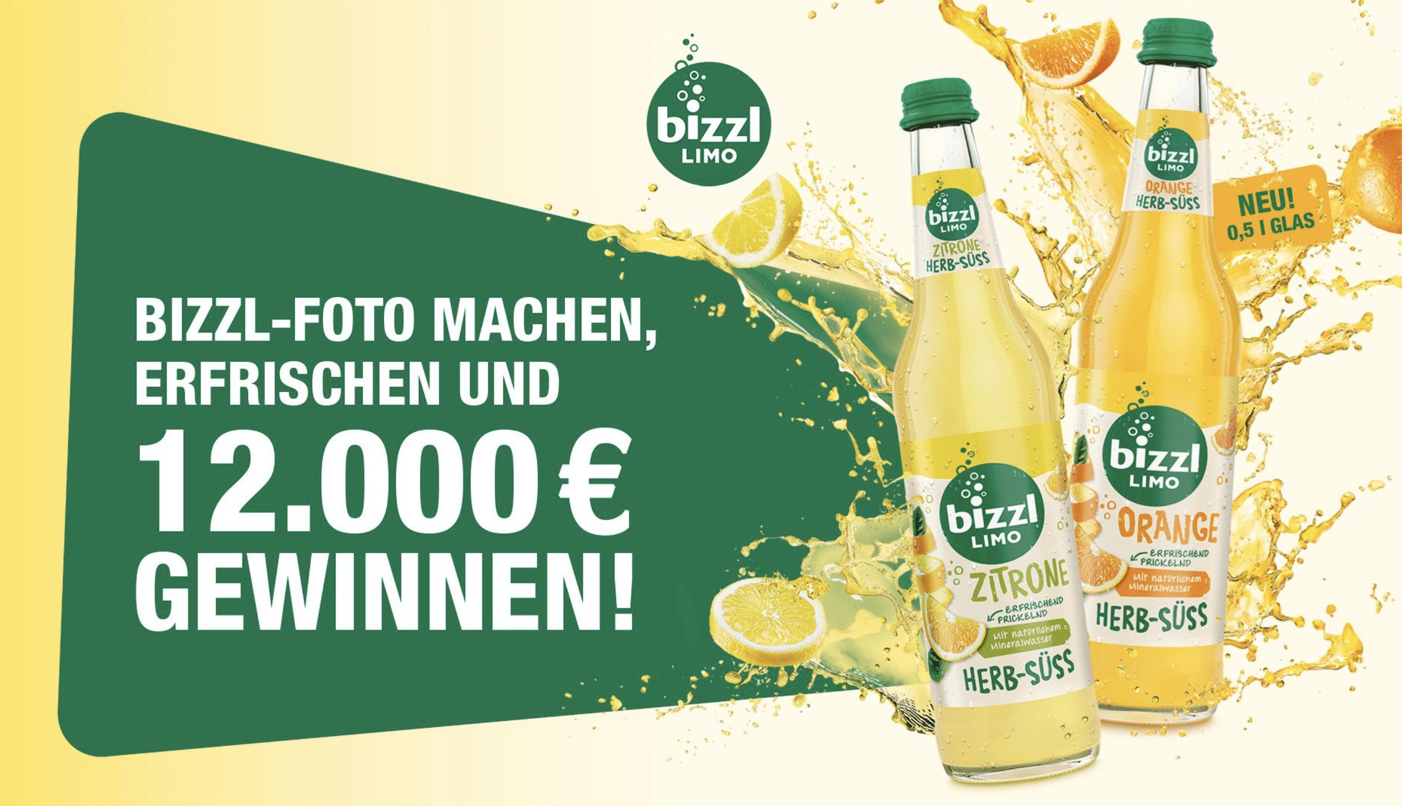 Gewinnspiel-Cases FMCG Getränke Bizzl