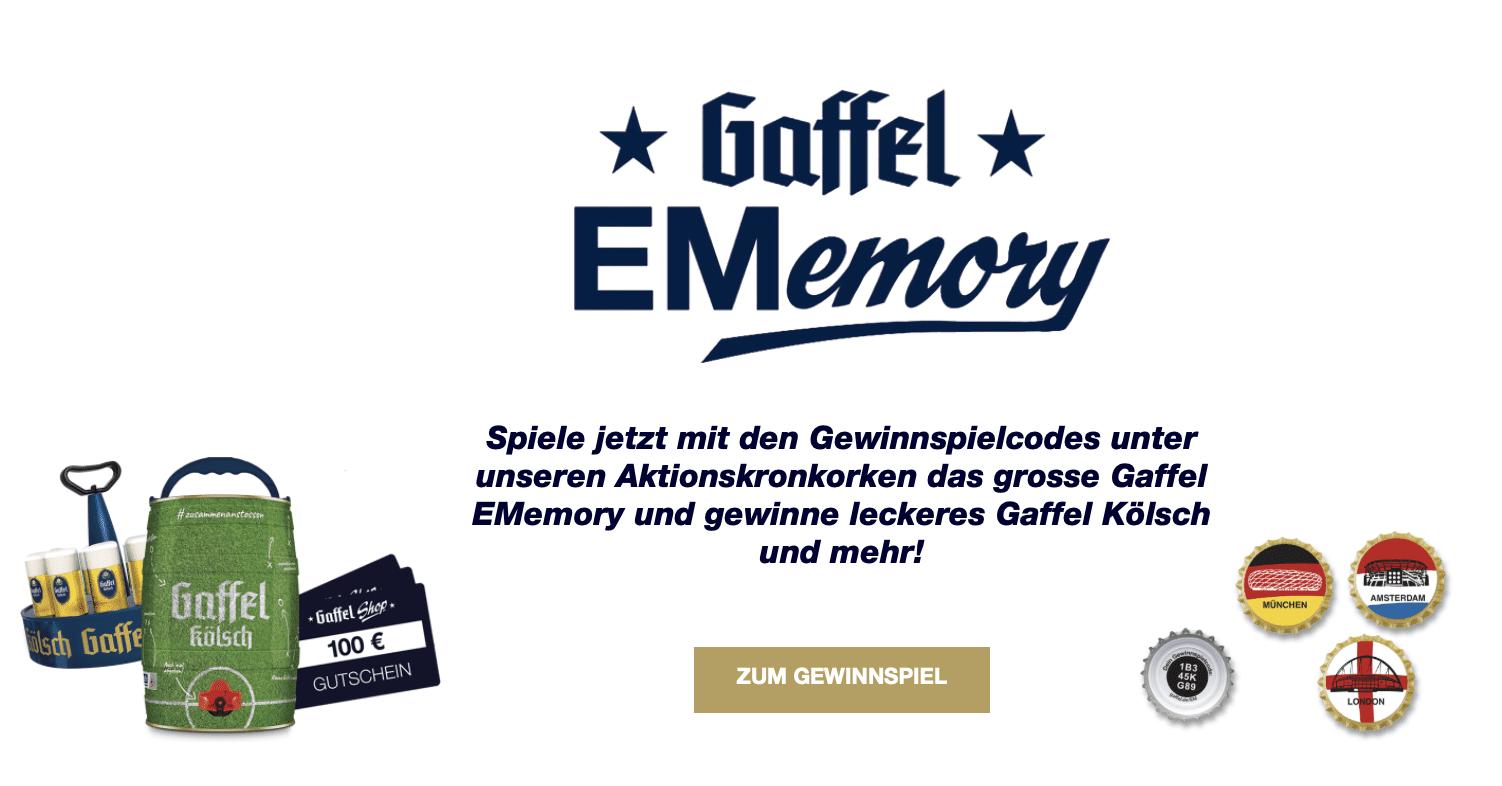 Gewinnspiel-Cases FMCG Getränke Gaffel