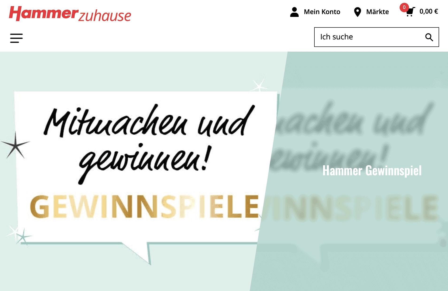 """Gewinnspiel-Cases """"Baumärkte & Gartencenter"""" Hammer"""