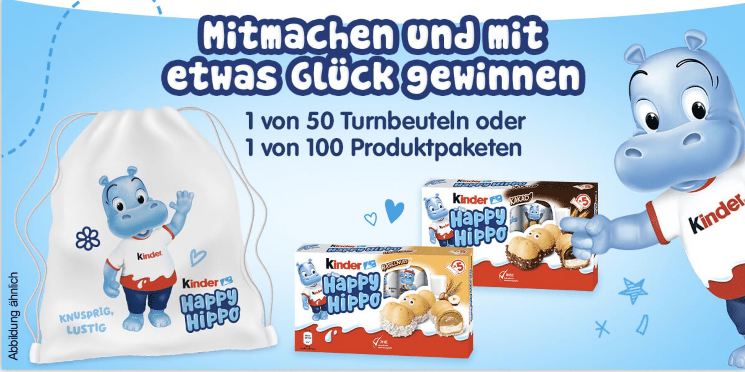 Gewinnspiel-Cases FMCG Süßwaren & Snacks Happy Hippe