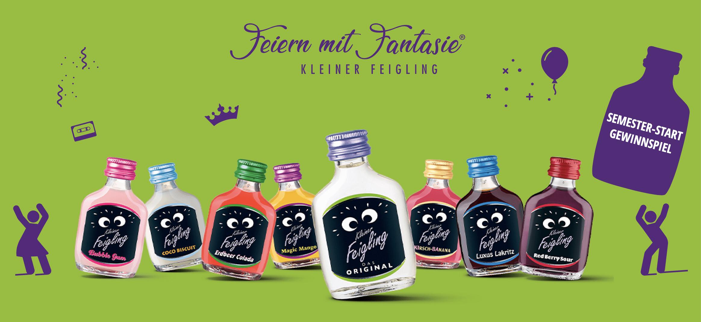 Gewinnspiel-Cases FMCG Getränke Kleiner Feigling