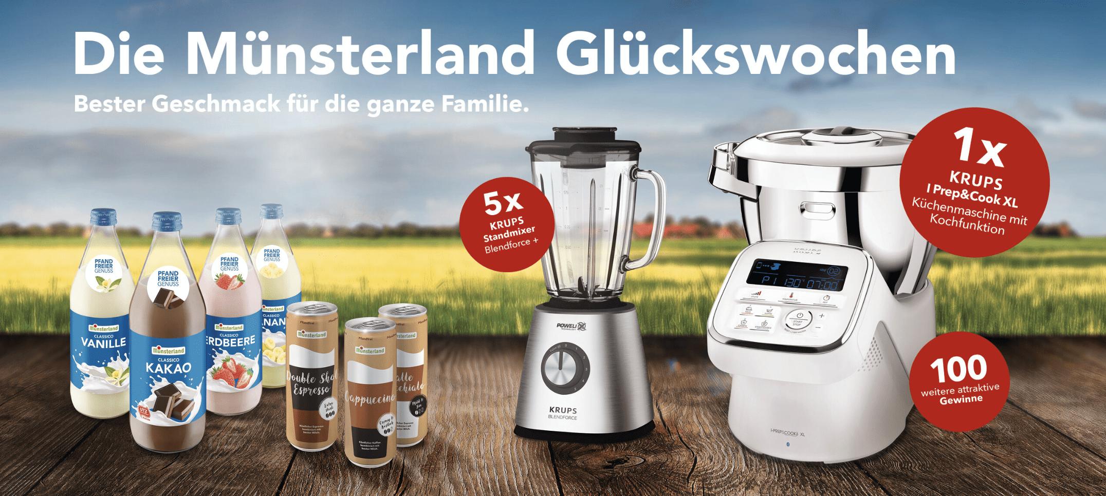 Gewinnspiel-Cases FMCG Food Münsterländer