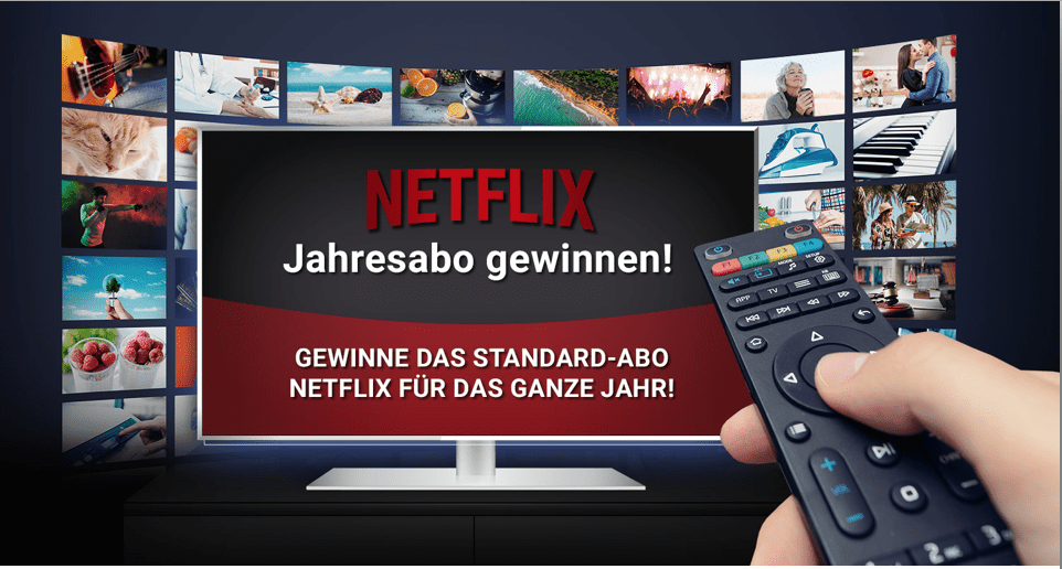 Gewinnspiele zur Lead-Generierung Netflix
