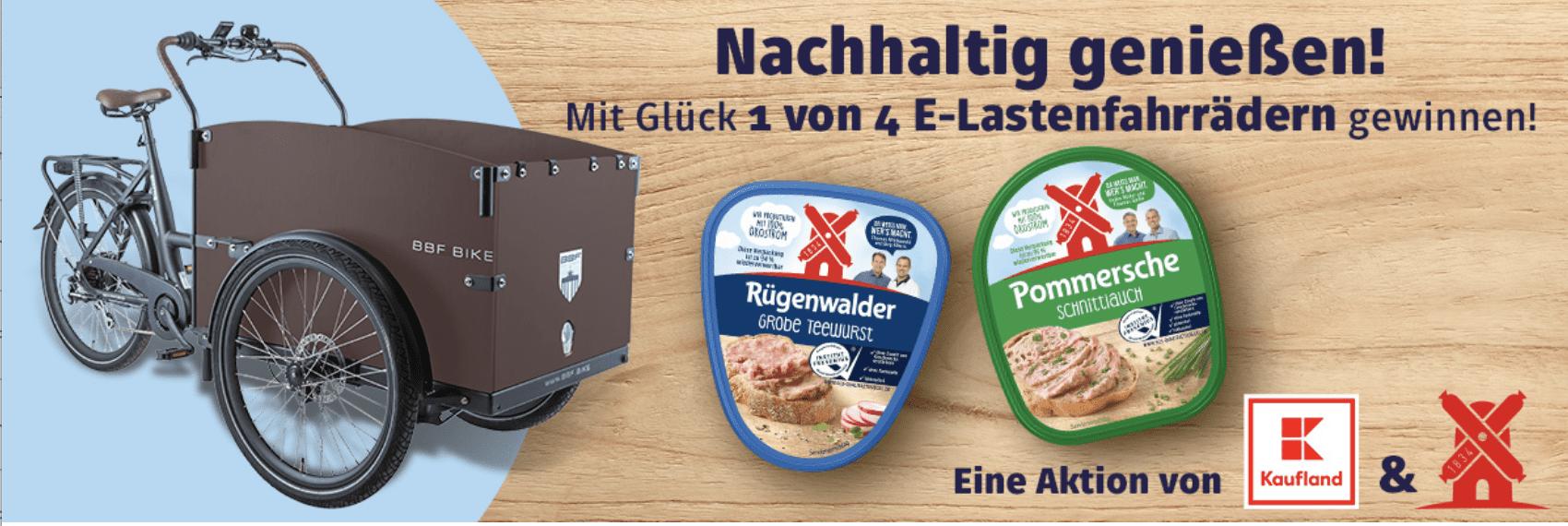 Gewinnspiel-Cases FMCG Food Rügenwalder Kaufland