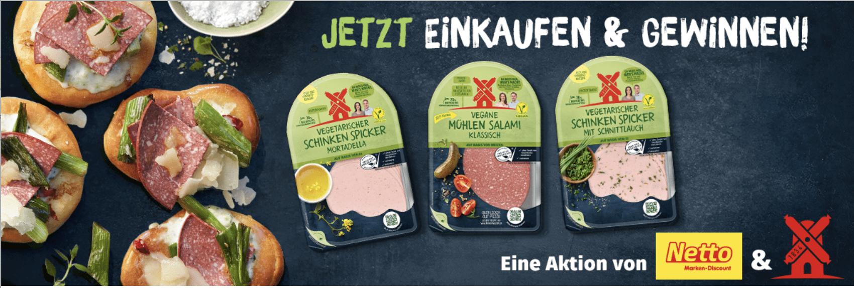 Gewinnspiel-Cases FMCG Food Rügenwalder netto