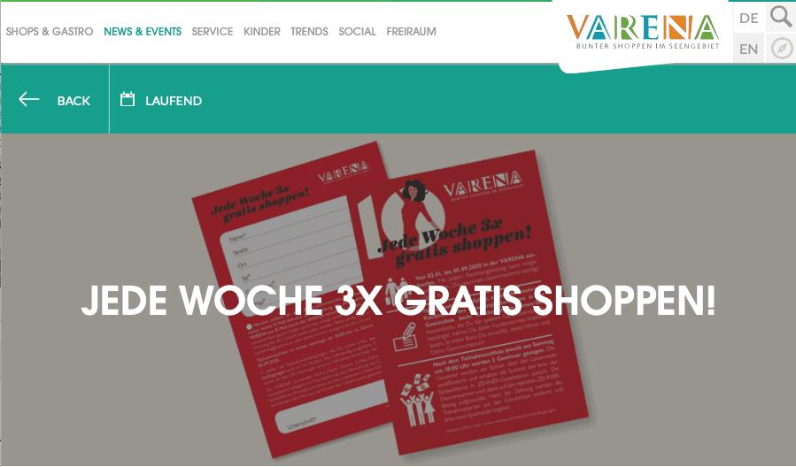 """Cases """"Gewinn Deinen Einkauf zurück"""" Verena"""