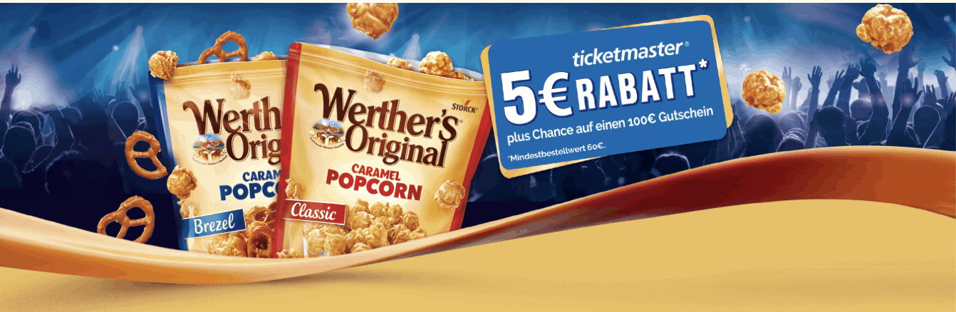 Gewinnspiel-Cases FMCG Süßwaren & Snacks Werthers Original