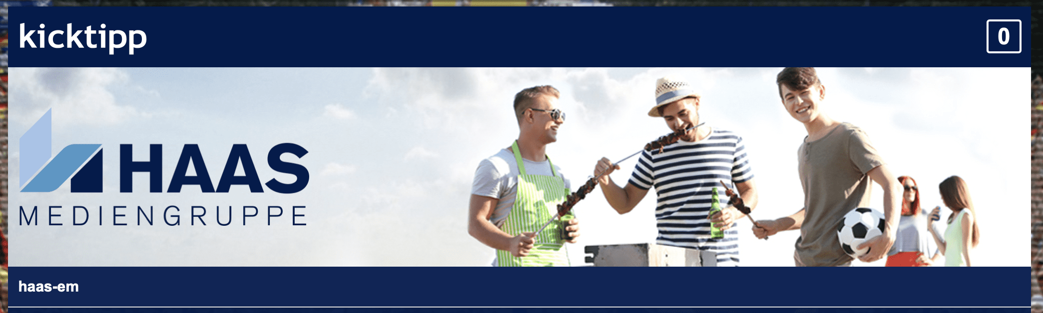 Tipp-Gewinnspiel Haas-Mediengruppe