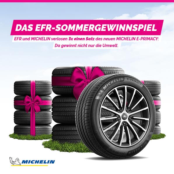 Gewinnspiel-Cases Automotive EFR Sommergewinnspiel