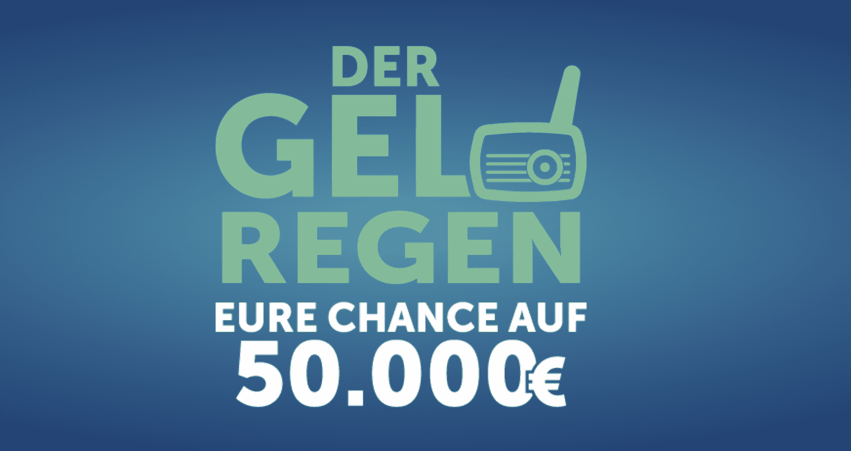 Gewinnspiel-Cases Radio & TV Geldregen