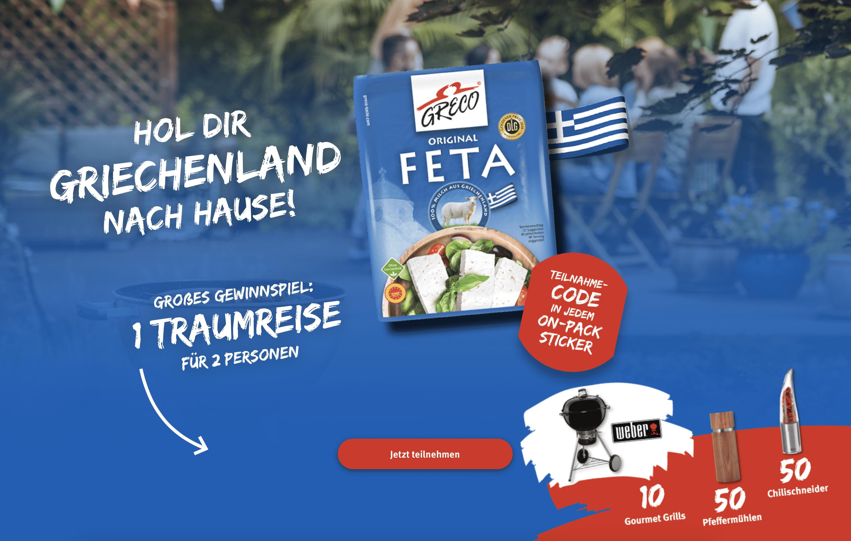 "Gewinnspiel-Cases ""FMCG Food"" Greco"