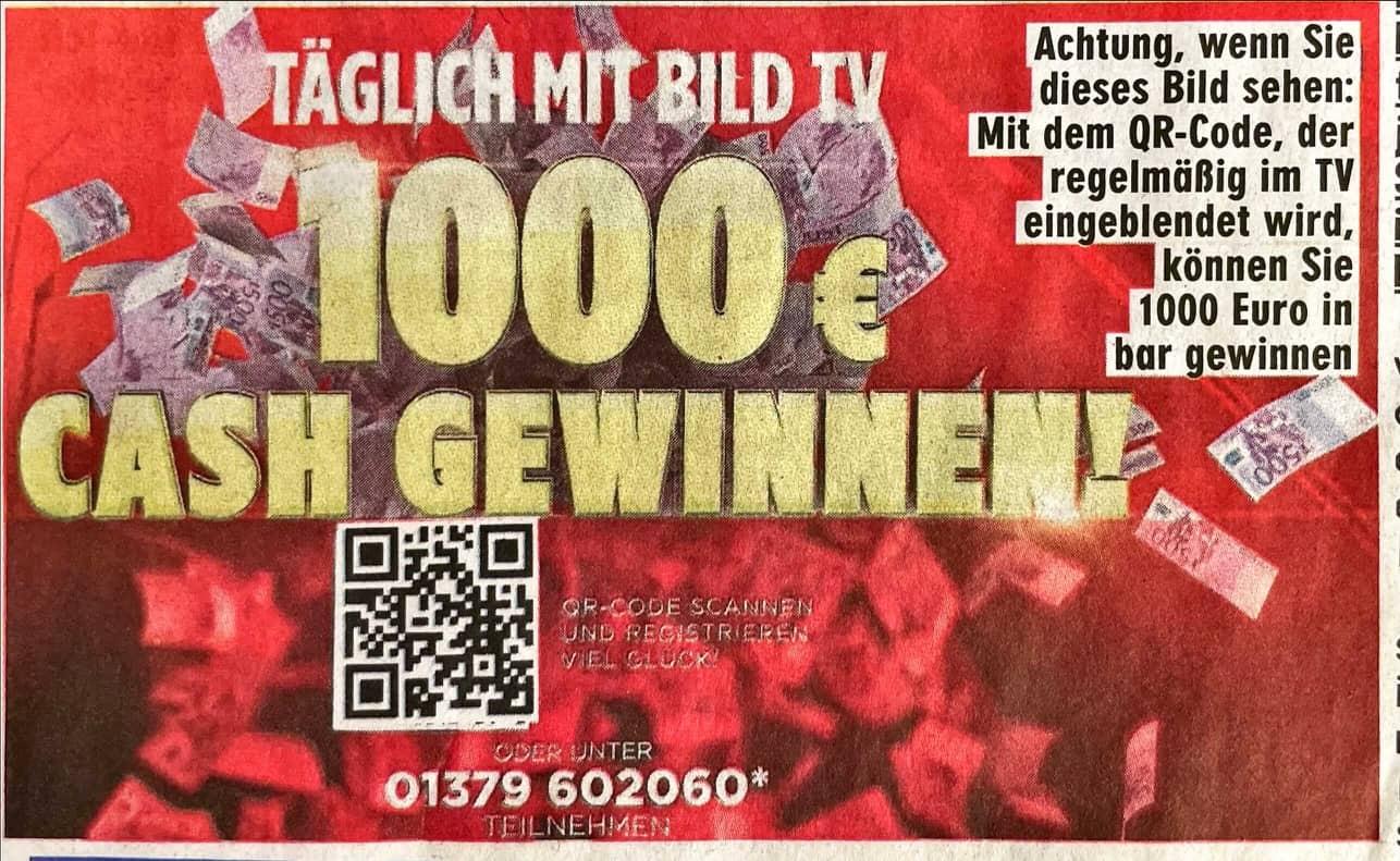 BILD im TV Live Cash