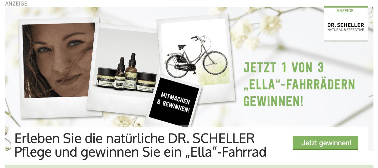 "Gewinnspiel-Cases ""Drogeriemärkte"" Dr. Scheffler"